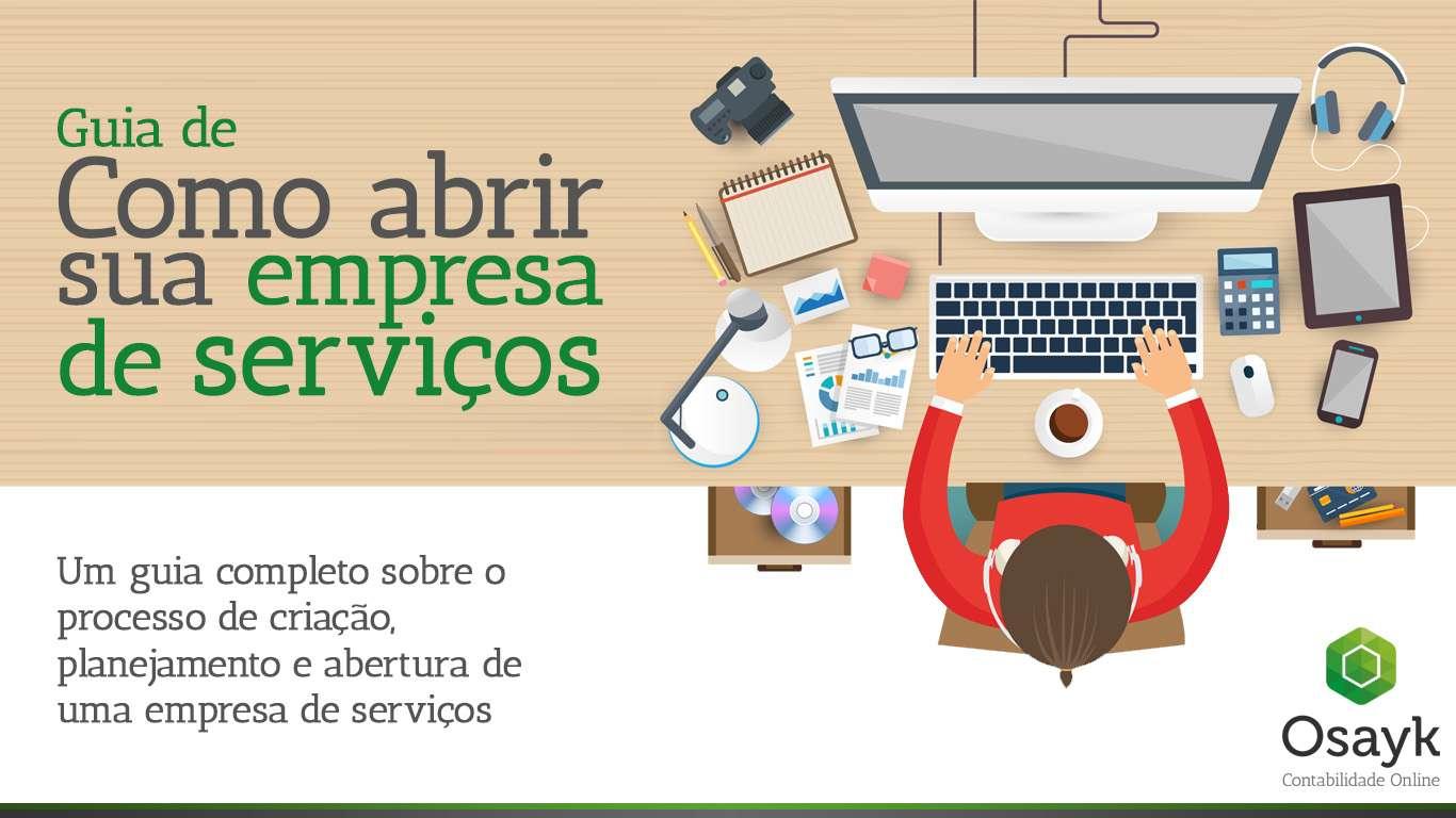 Guia de Como abrir uma empresa de serviços - materiais Osayk
