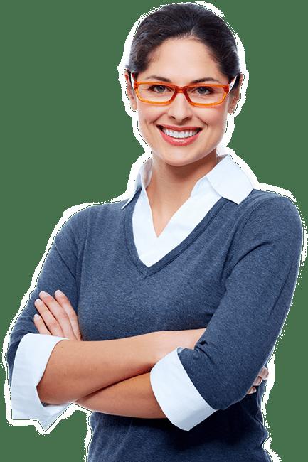 mulher contabilidade